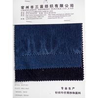 330g Indigo stretch denim twill fabric for jeans