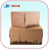 Hot Promotion Kraft Paper Box for Cupcakes/Food/Candy/Household
