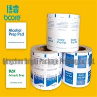 Alcohlo Swabs Packaging Paper in Roll