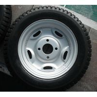 Wheel and tire of tricycle thumbnail image