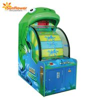 Reel in the Fun Coin Operated Games Indoor Amusement Bass Wheel Arcade Ticket Redemption Machine