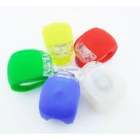 Bicycle GEL Silicone LED Headlight Rubber Light thumbnail image