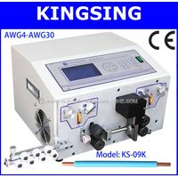 Wire Cutting Stripping Machine KS-09K,Process Heavy Wire Of 0.1-16sqmm+Free Shipping By DHL Air Expr