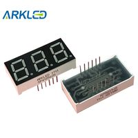 3 Digits 7 Segment LED Displays 0.56 Inch with Full Color