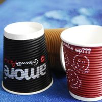A04 ripple paper cup