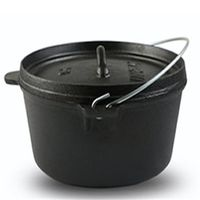 Enamel Cast Iron Stewpot Soup Pot Cooker