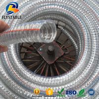 High temperature 175 Celsius PVC steel wire pipe thumbnail image