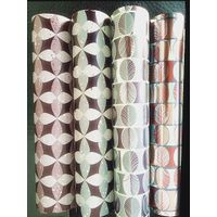 Transfer holographic rollwrap paper for gift pack