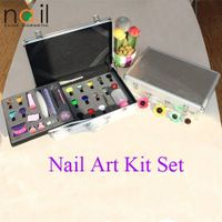 Stamping nail art kit set