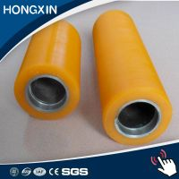 customized high resilience printing polyurethane coating pu rubber roller