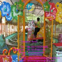 2015 Newest popular amusement rides attractive Joy Spray Ball Car Rides