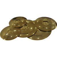 Tongxiang gold color Low Volume Cymbals 5 Pcs cymbal Set
