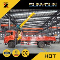 SUNYOUN 3.2T 4T 6T 8T 12T Truck Crane from Chinese Manufacturer