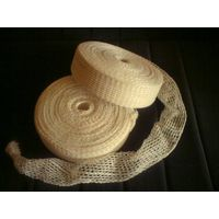 Production program of nets includes a wide assortment of elastic nets which are suitable for packagi