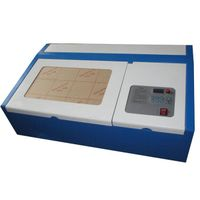 desktop laser engraver/rubber stamp making machine/40w mini co2 laser cutter thumbnail image