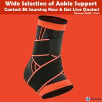 Men's and women's sports nylon ankle protector warm and breathable ankle fixed ankle protector thumbnail image
