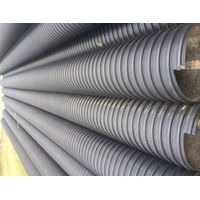 HDPE STRIP STEEL REINFORCED POLYTHYLENE SPIRAL CORRUGATED PIPE