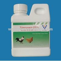 25% Tilmicosin phosphate oral solution for chicken weight gain