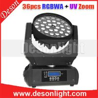 36pcs 10W / 15w 4in1,5in1,6in1 led zoom moving head LM-023B thumbnail image
