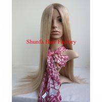 2013 New Style blond color long hair lace front Wig