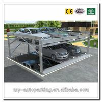 Hot! 2-3 Floors Pit Design Automated Car Puzzle Parking System Vhicels Smart Card Parking Systems