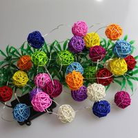 Waterproof Colourful Ball Party and Holiday Decoration Fairy String Lights thumbnail image