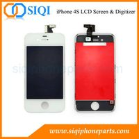 High Quality For iPhone 4S Screen China Wholesale (White)