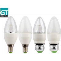 4W High Heat Conduction Performance LED lamp E14/E27