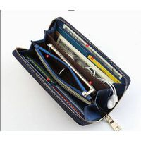 function and multi compartments phone PU purse