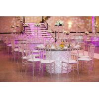 Fashion design wedding banquet dinner tables for reception