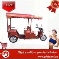 Popular Electric Passenger Rickshaw for India Market with Controller Battery/Tuk Tuk Rickshaw for Sa