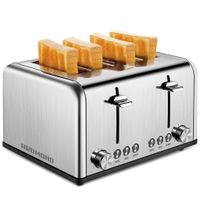 Stainless Steel 4 Slice Toaster ST026 thumbnail image