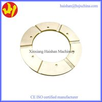 Fine Finish Copper Alloy Thrust Bearing Plate