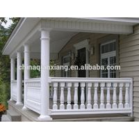 staircase handrail design and stair baluster of polyurethane