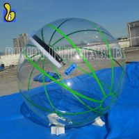 Fatory Price Water Walking Ball With Colorful Strips For Water Games
