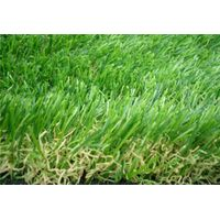 double color Artificial grass for garden