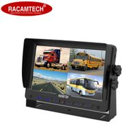 """7"""" HD Quad View LCD Color Rear View Car/Bus/Truck Monitor with Sunshape"""