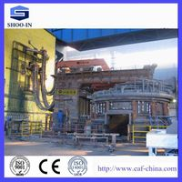 Steelmaking high impedance electric arc furnace thumbnail image