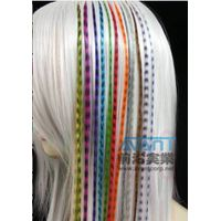 Multi-Color Feather Hair Extensions Whiting Rooster Saddle Hackle