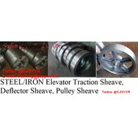 steel/ Iron Elevator Traction Sheave, Deflector Sheave, Pulley Sheave
