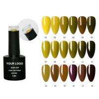 240 color whole set enamel nail polish gel kit high quality nail art soak off led uv nail gel polish