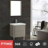 FaMe Modern Luxury High Gross Painting Bathroom Vanity Cabinet with DTC Soft Close Drawers