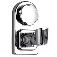 Suction cup hook support for shower head