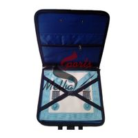 Master Mason Apron Leather with Case