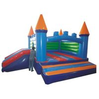 Interesting jump slide inflatable bouncy