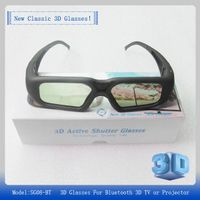 Free shipping SG16-BT 3D Active shutter Glasses 96-144Hz for DLP-Link 3D projector of LG/BENQ/ACER/S thumbnail image