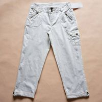 Women's Pencil Trousers,Crop Jeans,Crop Pant, Cotton Trousers, stock