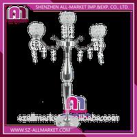 ZSG17520 Wedding Decoration 3 Arms Crystal Candle Holder thumbnail image