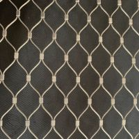 316 Stainless Steel Wire Rope Mesh Cable Net For Balustrade Railing