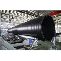 HDPE Hollowness Wall Spiral Pipe Extrusion Line- Spiral Pipe Extrusion Line- Spiral Pipe Extrusion